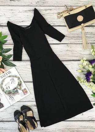 Шикарное базовое платье из костюмной ткани  dr1834090
