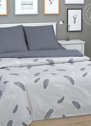 Феникс - постельное белье из поплина с перьями