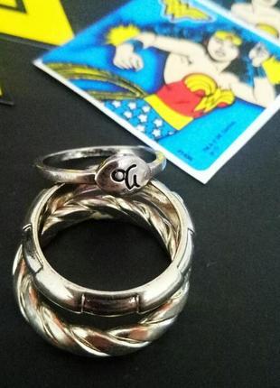 Набор колец кольца h&m новые под серебро