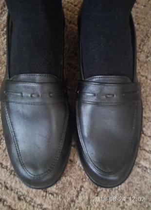 Новые мужские туфли из натуральной кожи