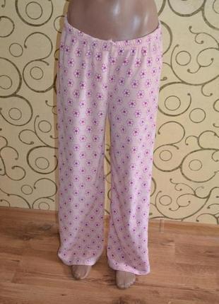 Пижамные штаны флис secret possessions uk 16-18 р.l р.50-52