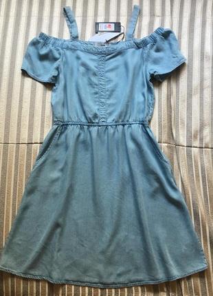 Джинсовое платье new look