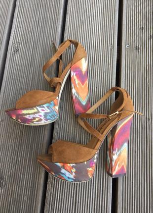 Босоножки на высоком каблуке, new look, размер 36