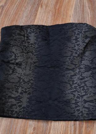 Корсет из плотного материала по типу джинса1