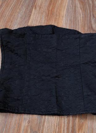 Корсет из плотного материала по типу джинса2