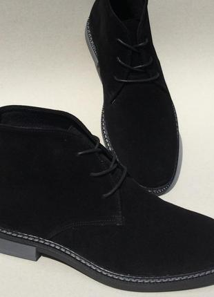 37e1280a Clarks men desert boot мужские кожаные замшевые ботинки дезерты осень 2018