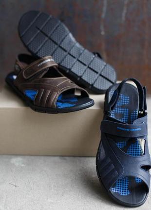 Мужские сандалии adidas porshe design.в двух расцветках