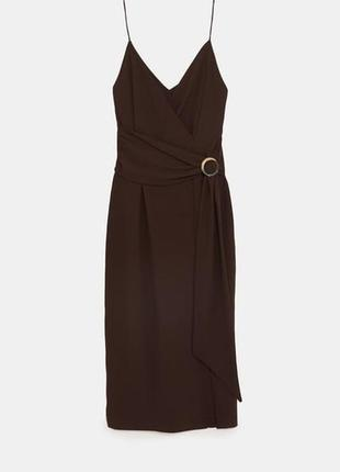 Zara платье макси