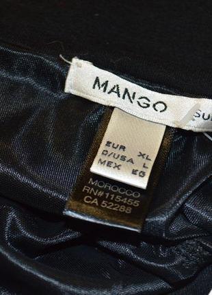 Черное платье mango .новое