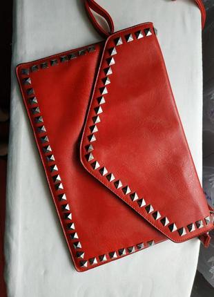 Яскрава сумочка конверт
