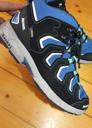 39 разм. стильные ботинки meindl gore - tex. замша
