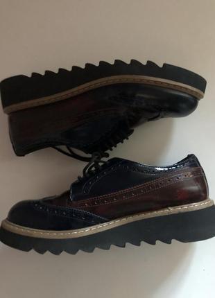 Дерби оксфорды туфли на осень-весну jildor