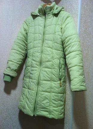 Зимнее пальто *зимняя  куртка с капюшоном  пуховик
