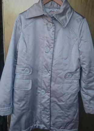 Пальто на синтепоне мaрки h&m. р. м.