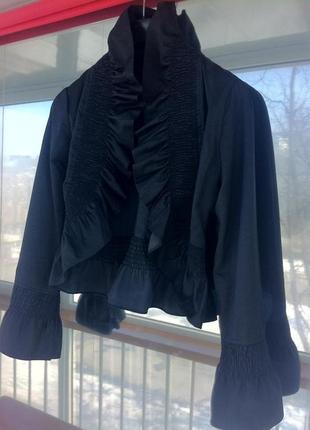Стильный жакет-балеро. пиджак. кофта. блуза. кардиган.