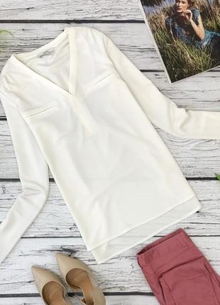 Свободная блуза от next с v- образным вырезом  bl1834146  next