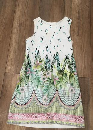 Платье zara в пастельных тонах