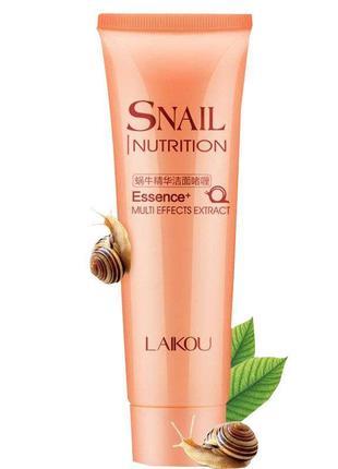 Гель для умывания laikou snail nutrition essence multieffects extract. акция! -20%