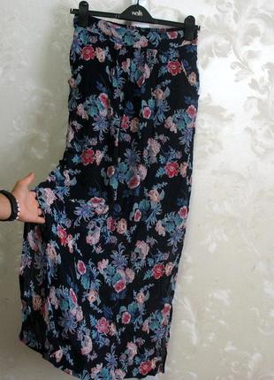 Длинная юбка с разрезами по бокам monsoon