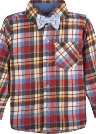 Фланелевая рубашка на 3-4 года gc-utee