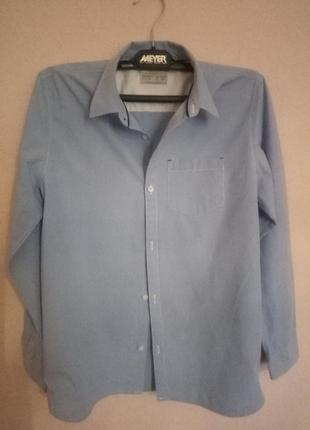 Школьная рубашка zara размер 164 (13-14) . состояние новой.