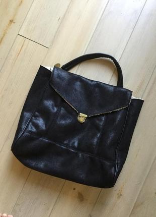 Сумка сумочка сислей sisley чёрная