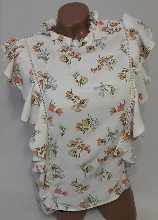Милая вискозная блуза f&f