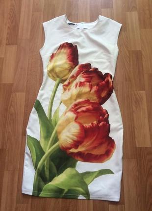 Плаття с тюльпанами molegi