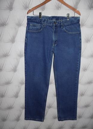 Классические мужские джинсы, 100 % коттон
