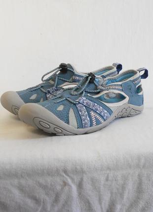 Тканевые дышащее кроссовки мокасины  hazard