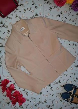 Бежевая куртка под кашемировую, фирма atmosphere, размер m