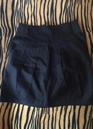 Черная юбка-тюльпан h&m divided