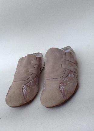 Замш кроссовки kickers