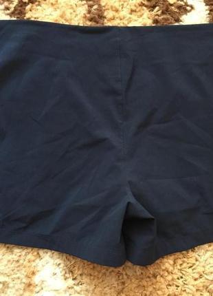 Синие спортивные двойные шорты champion2 фото