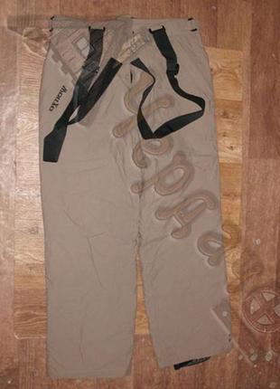 Теплые непромокаемые мембранные брюки oxbow level 1 для лыж или сноуборда