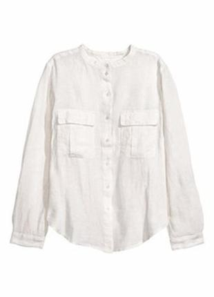 Шикарна рубашка з льону