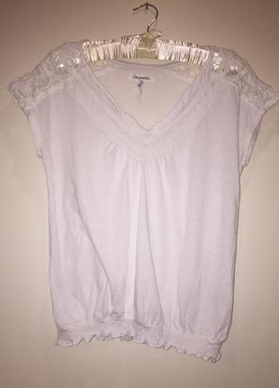Хлопковая блуза aeropostale