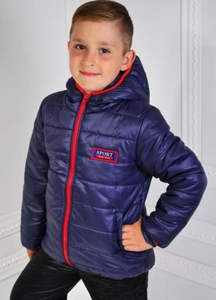 Куртка детская демисезонная 104,110,122