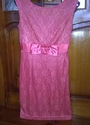 Красиве плаття з бантом від valentin yudashkin