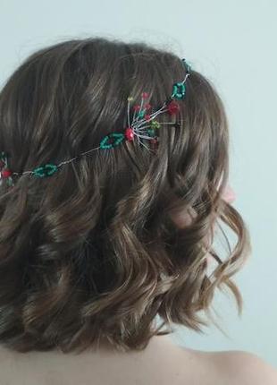 Прикраса для волосся. вінок-корона
