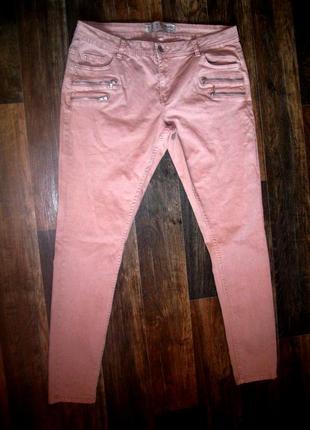 Классные джинсы с молниями
