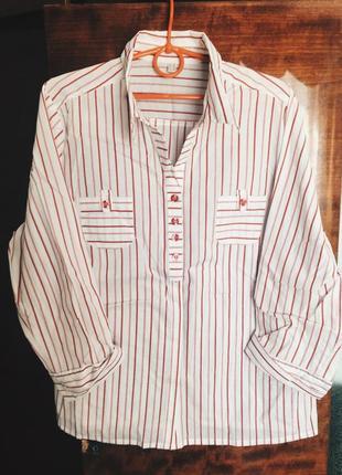 Рубашка oversize в стиле zara