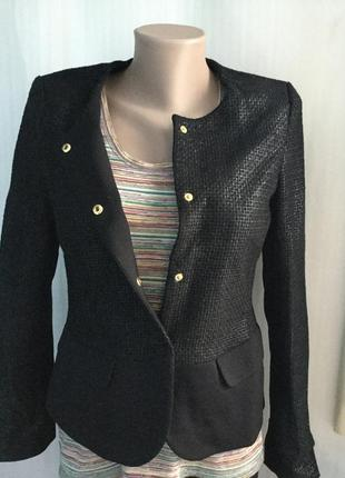 Жакет esprit , пиджак в стиле шанель