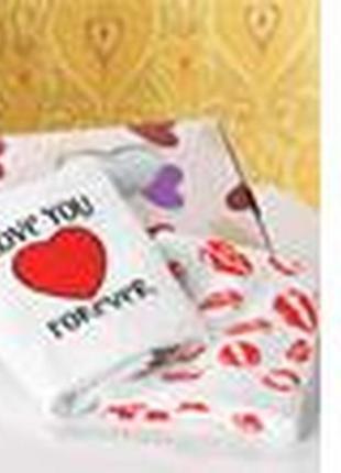 Комплект полотенец «нежные сердца»3
