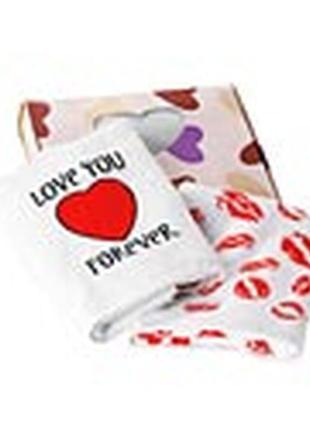 Комплект полотенец «нежные сердца»4