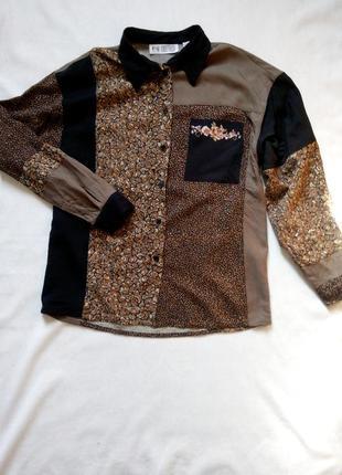 Умопомрачительно стильная рубашка !50% скидка на все вещи!