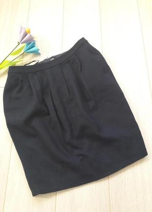 Класна шерстяна юбка topshop 34 розміру