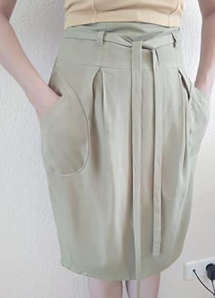 Льняная юбка-карандаш jhiva лён