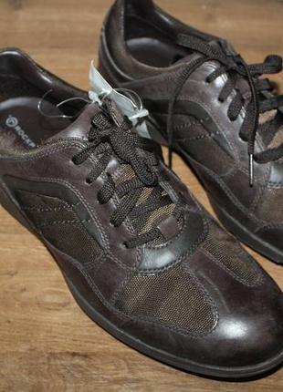Кожаные полуботинки на шнуровке rockport, 42.5 размер