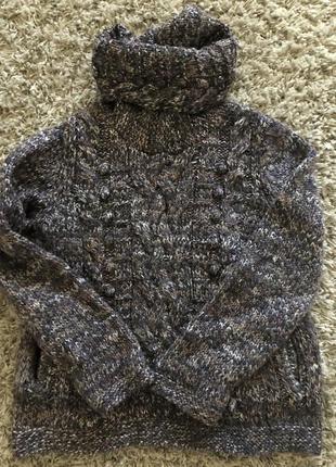 Вязаный свитер m&s